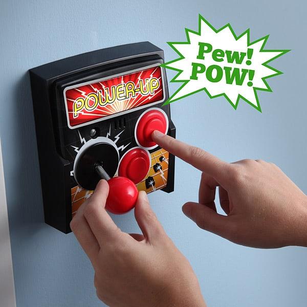 Power-Up Arcade Light Switch Plate Interactive Fixture