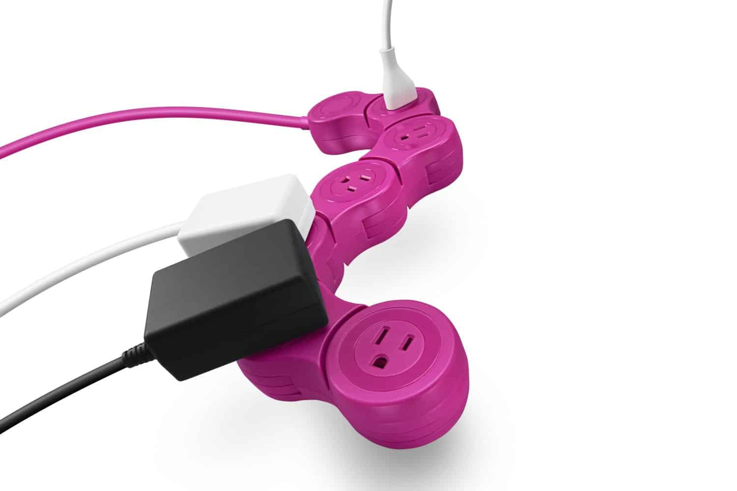 Quirky Pivot Power Bend that Power Strip to Fit All Plugs and Adaptors
