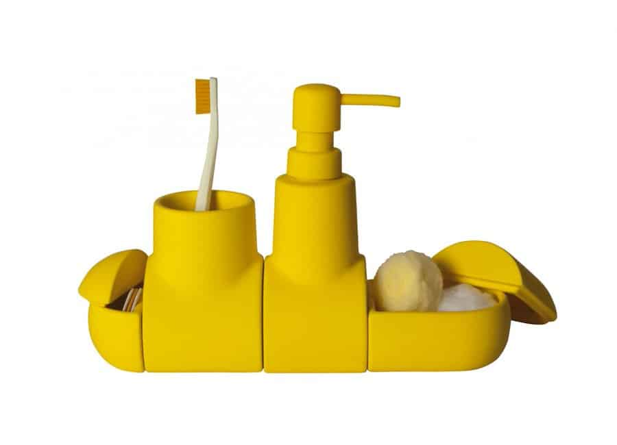 Seletti Submarino Bathroom Accessory Fancy Little Yellow Sub Gift Idea