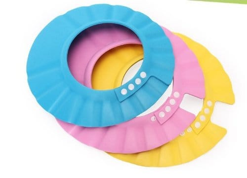 Shower Safe Soft Cap Colorful Baby Shower Accessory