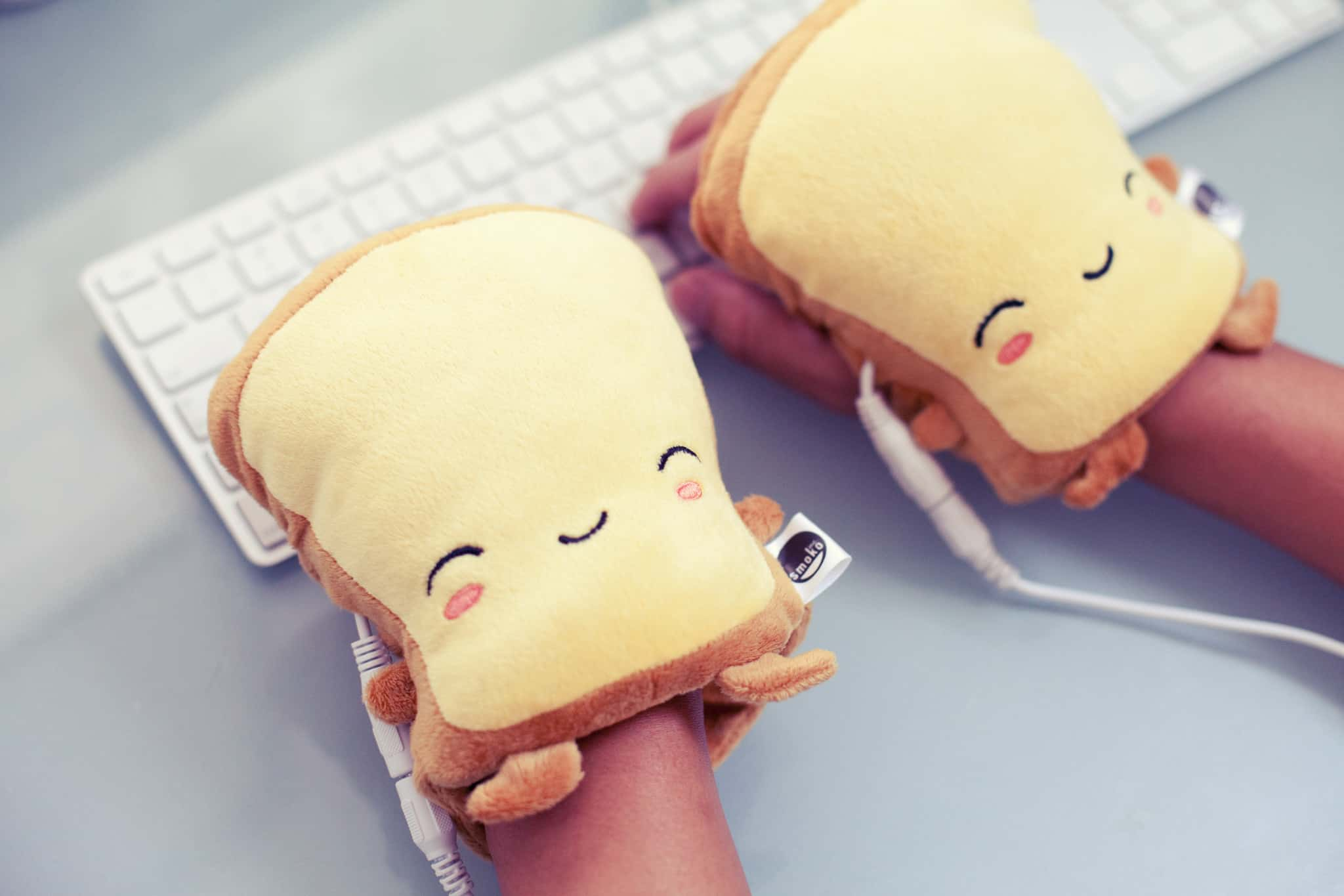 Smoko Butta Toast USB Handwarmers Comfortable Way to Type