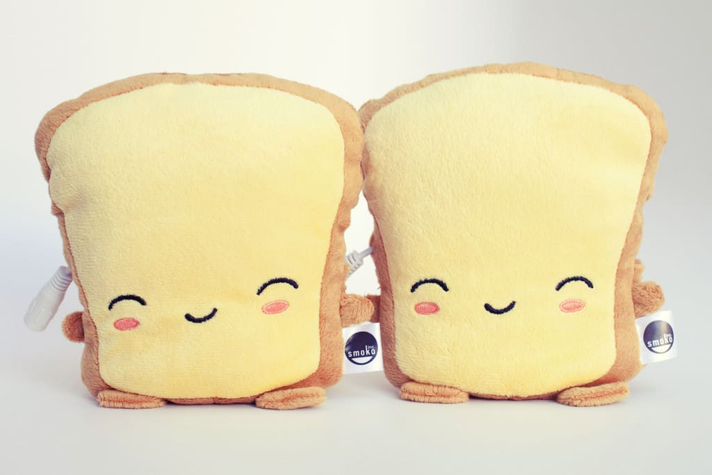 Smoko Butta Toast USB Handwarmers Cute Gift for Her