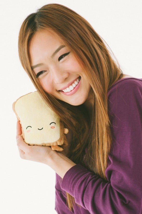 Smoko Butta Toast USB Handwarmers Cute Stuff to Buy Cartoon Plush Toy