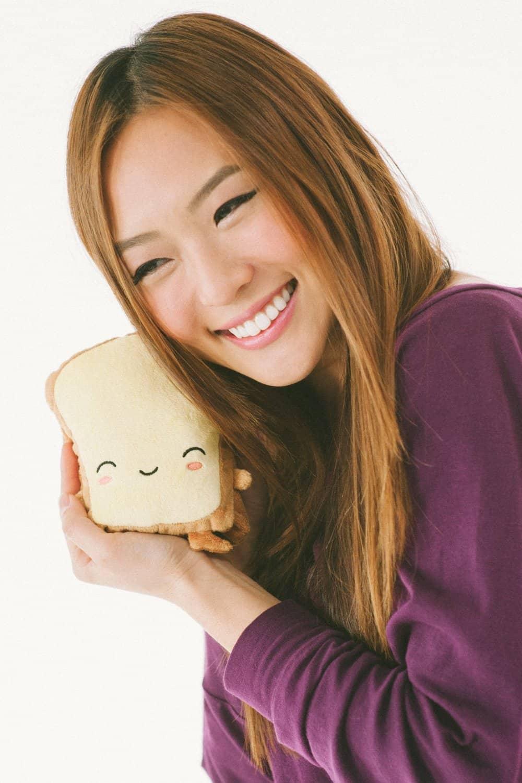 Smoko Butta Toast USB Handwarmers Cute Stuff to Buy Cartoon Plush Toy
