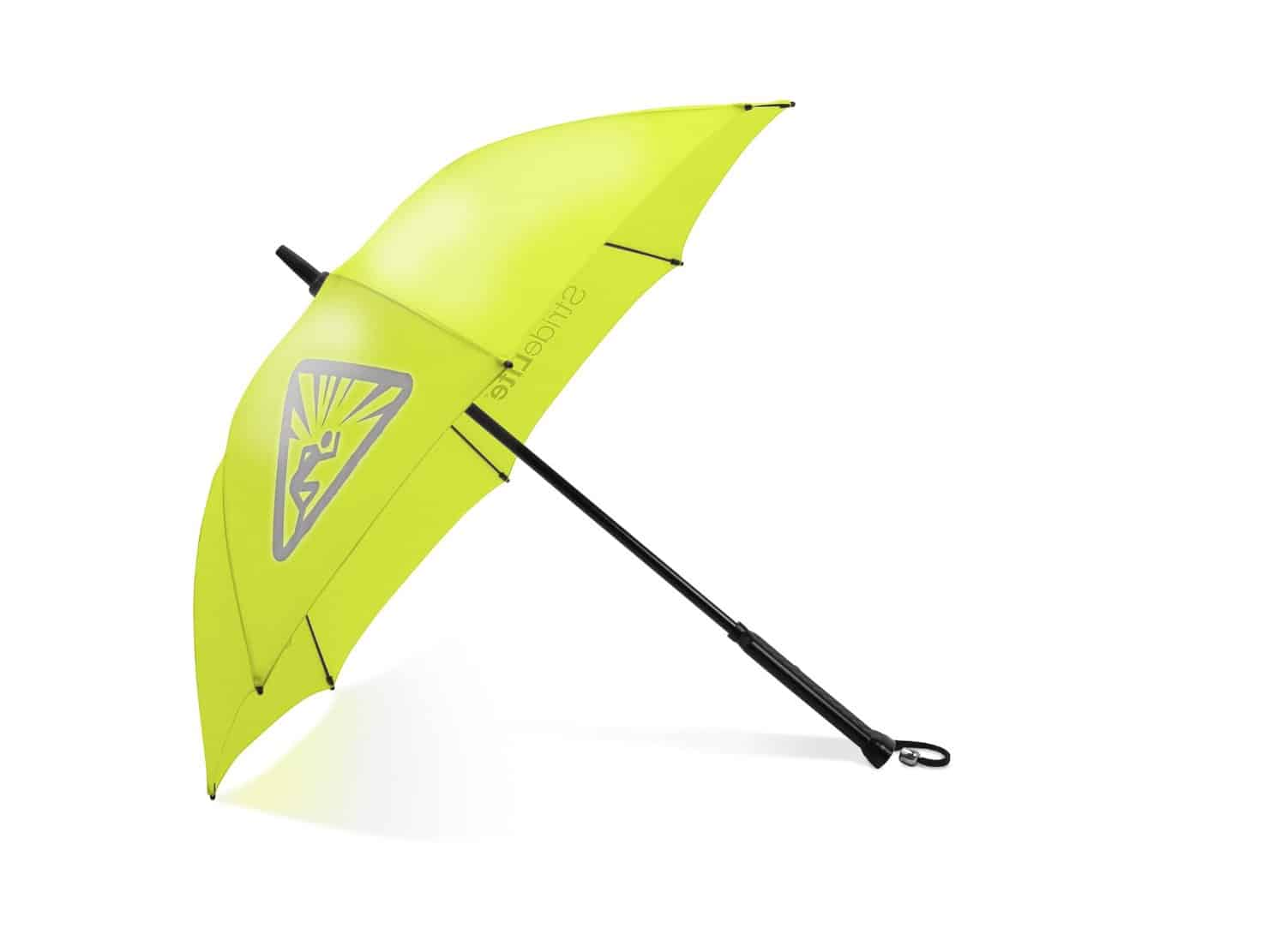 StrideLite Safe Walking Umbrella Neon Yellow to Attract More Attention