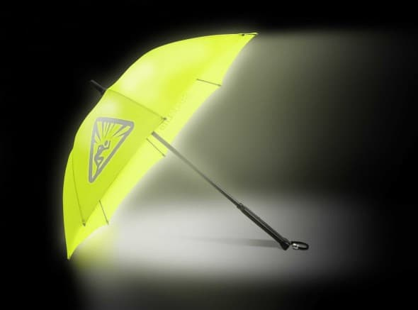 StrideLite Safe Walking Umbrella Practical Novelty Item Light Up your Walkway