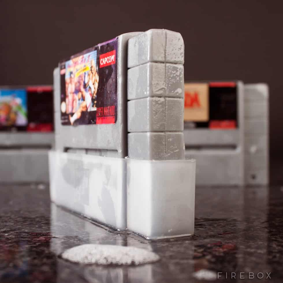 Super Nintendo Gamer Soap Cartridges Incudes Plastic Case Geek Stuff