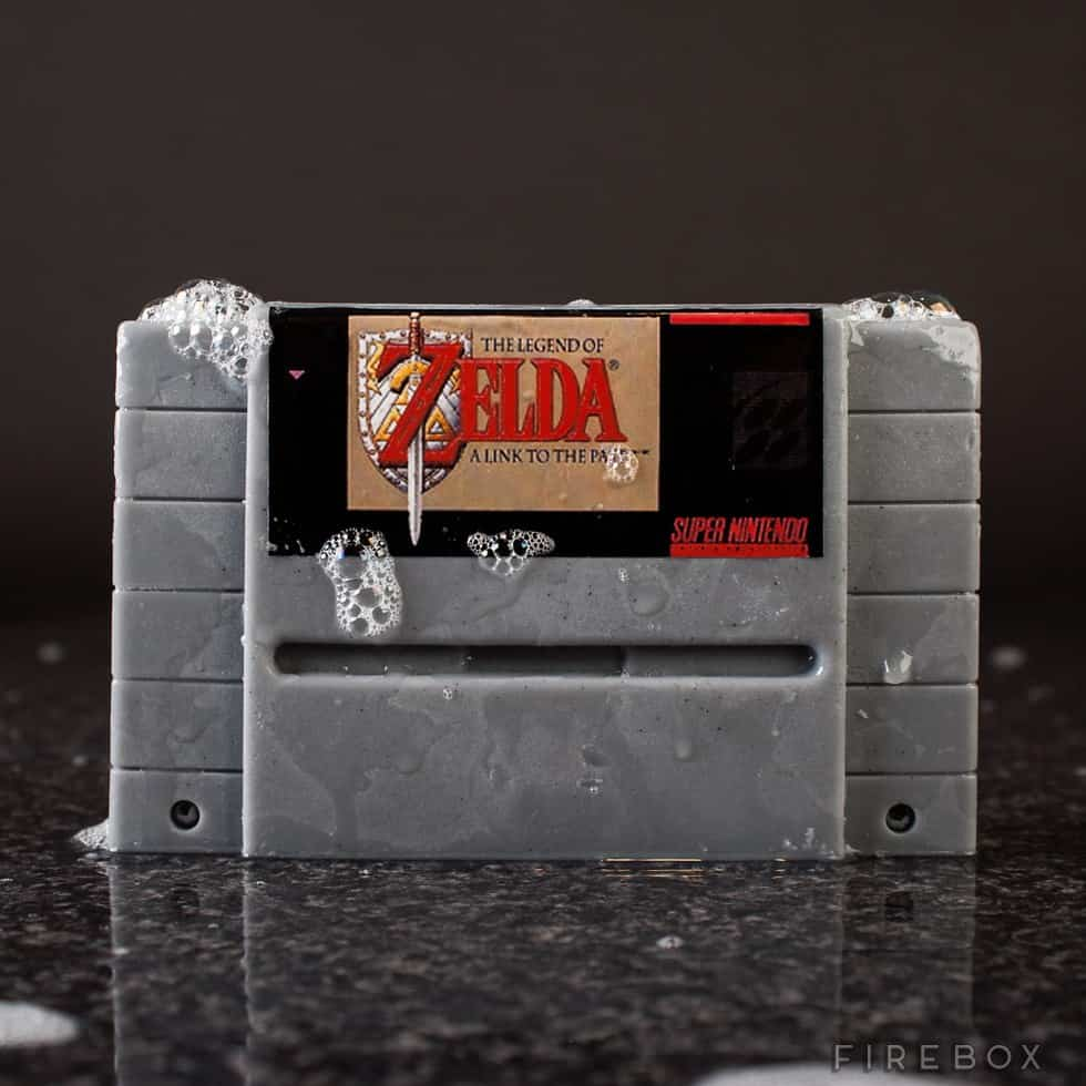 Super Nintendo Gamer Soap Cartridges The Legend of Zelda A Link to the Past SNES Bath
