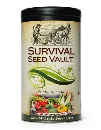 Survival Seed Vault Important Prepper Item