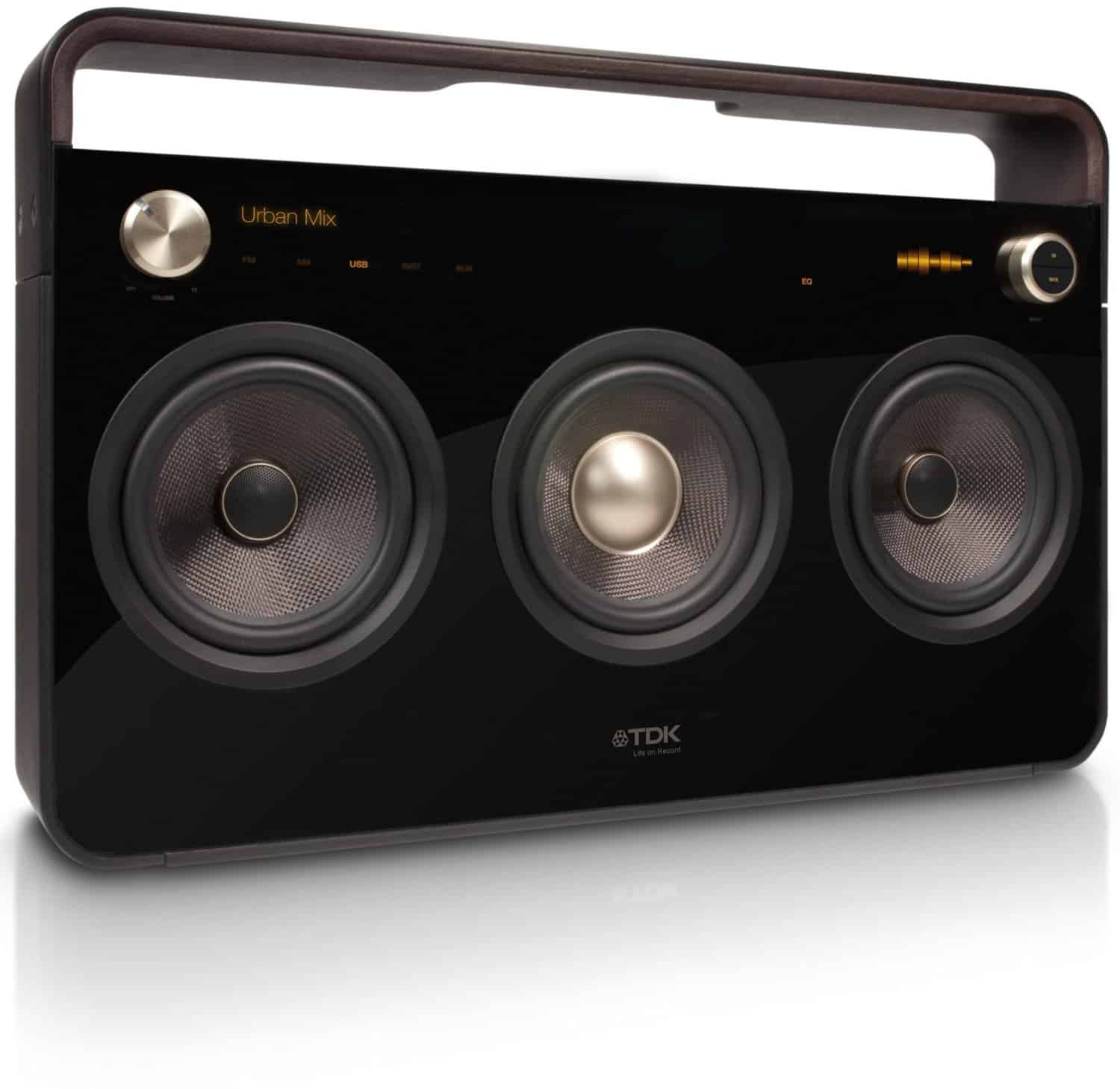 Tdk Life On Record 3 Speaker Boombox Audio System