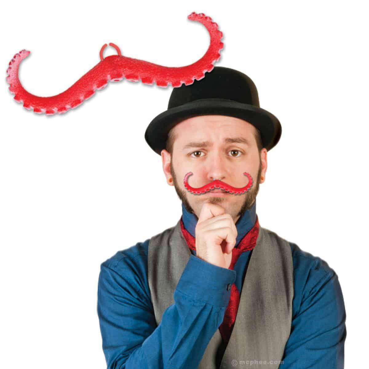 Tentacle Mustache Simple Halloween Costume