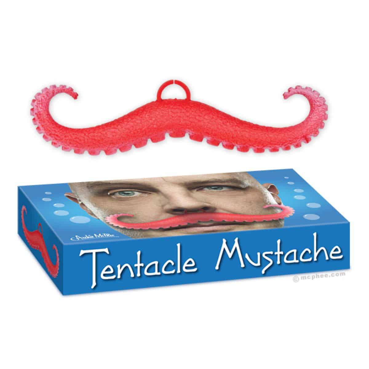Tentacle Mustache Soft Kids Toy