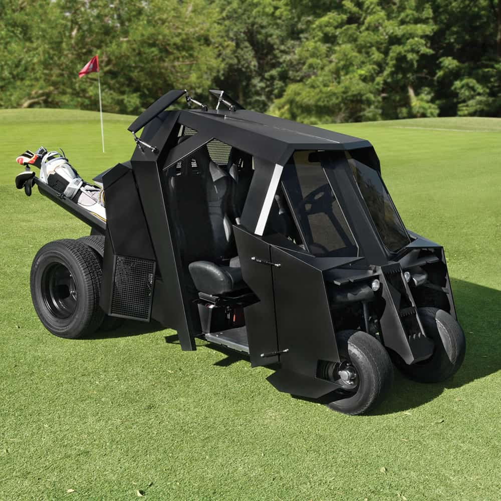The Gotham Golfcart Does It Come in Black Weird Expensive Things