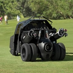 The golf knight rises.