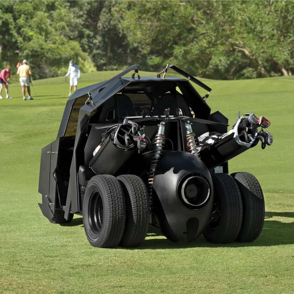 The Gotham Golfcart Play Golf with Style Dark Knight Batman Theme