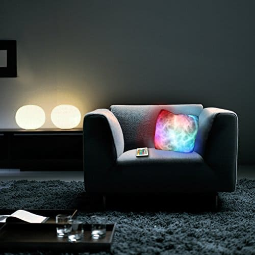 Thumbs Up Moonlight Cushion with LED Lights Blinking