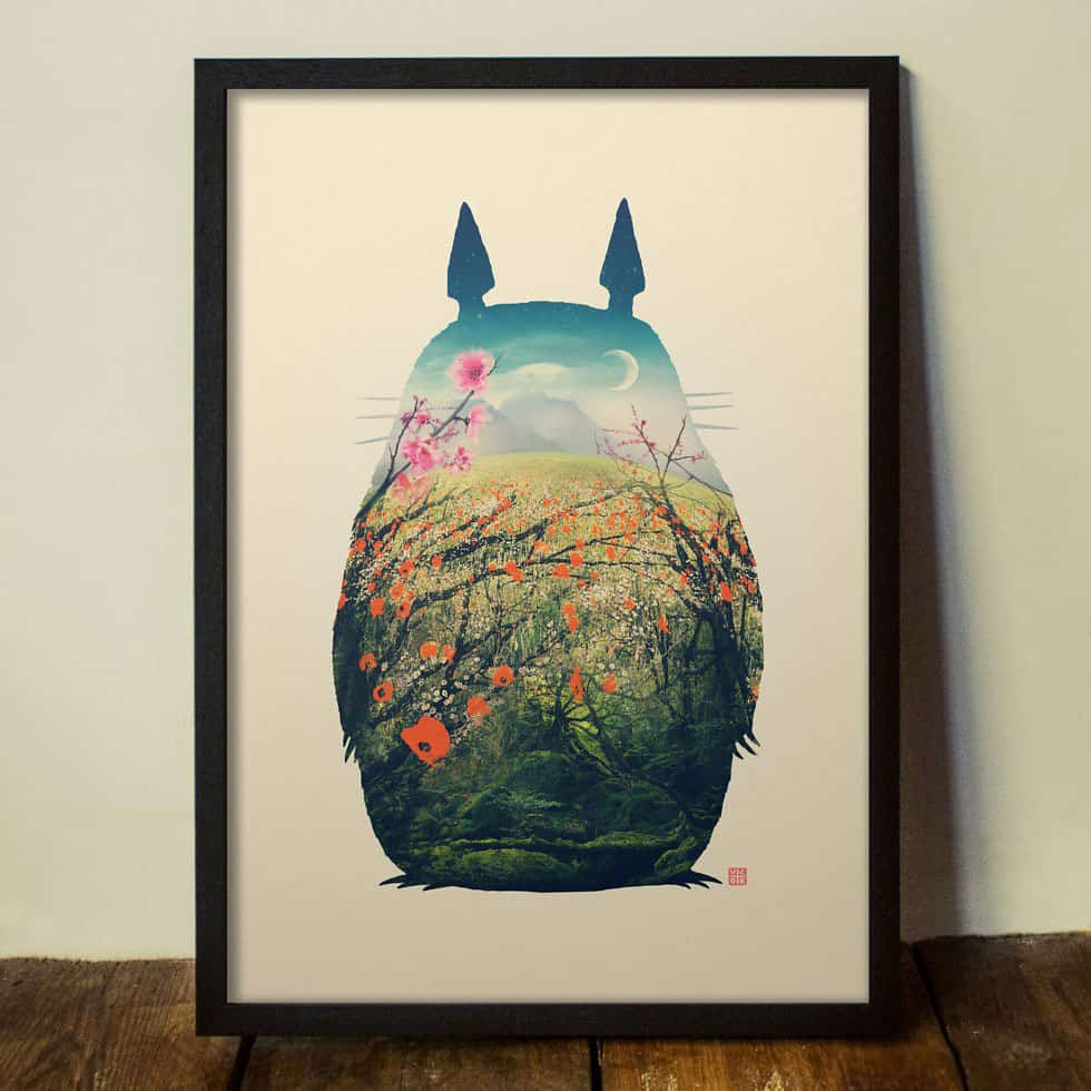 Totoro-Art-Print-Beautiful-Art-Print-Cool-Gift-Idea-for-Anime-Geeks