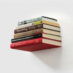 Make books float on your wall.