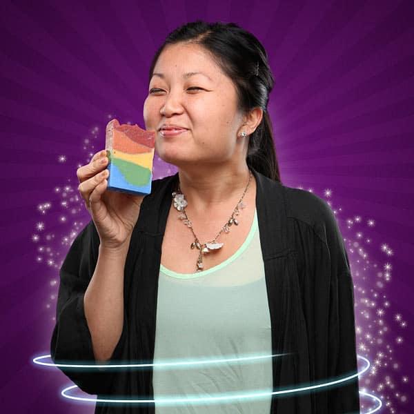 Unicorn Poop Soap Addicting Smell Cool Novelty Bath Product