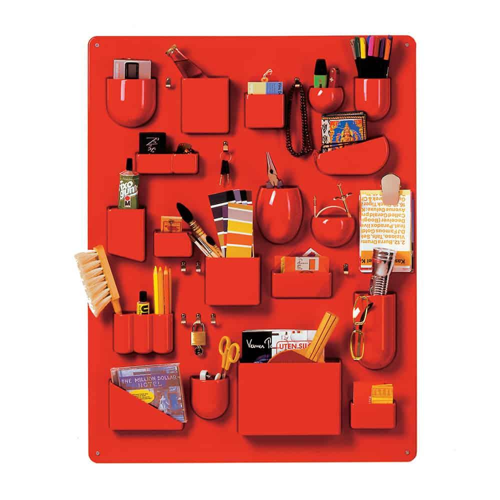 Vitra Uten Silo Wall Storage Red Stylish Designer Stuff to Drool on