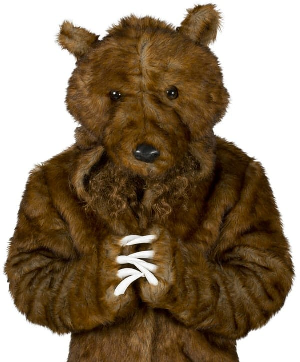 Workaholics Official Bear Coat Funny Costume