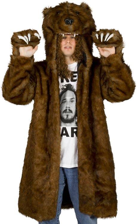 Workaholics Official Bear Coat Pop Culture TV Series Costume