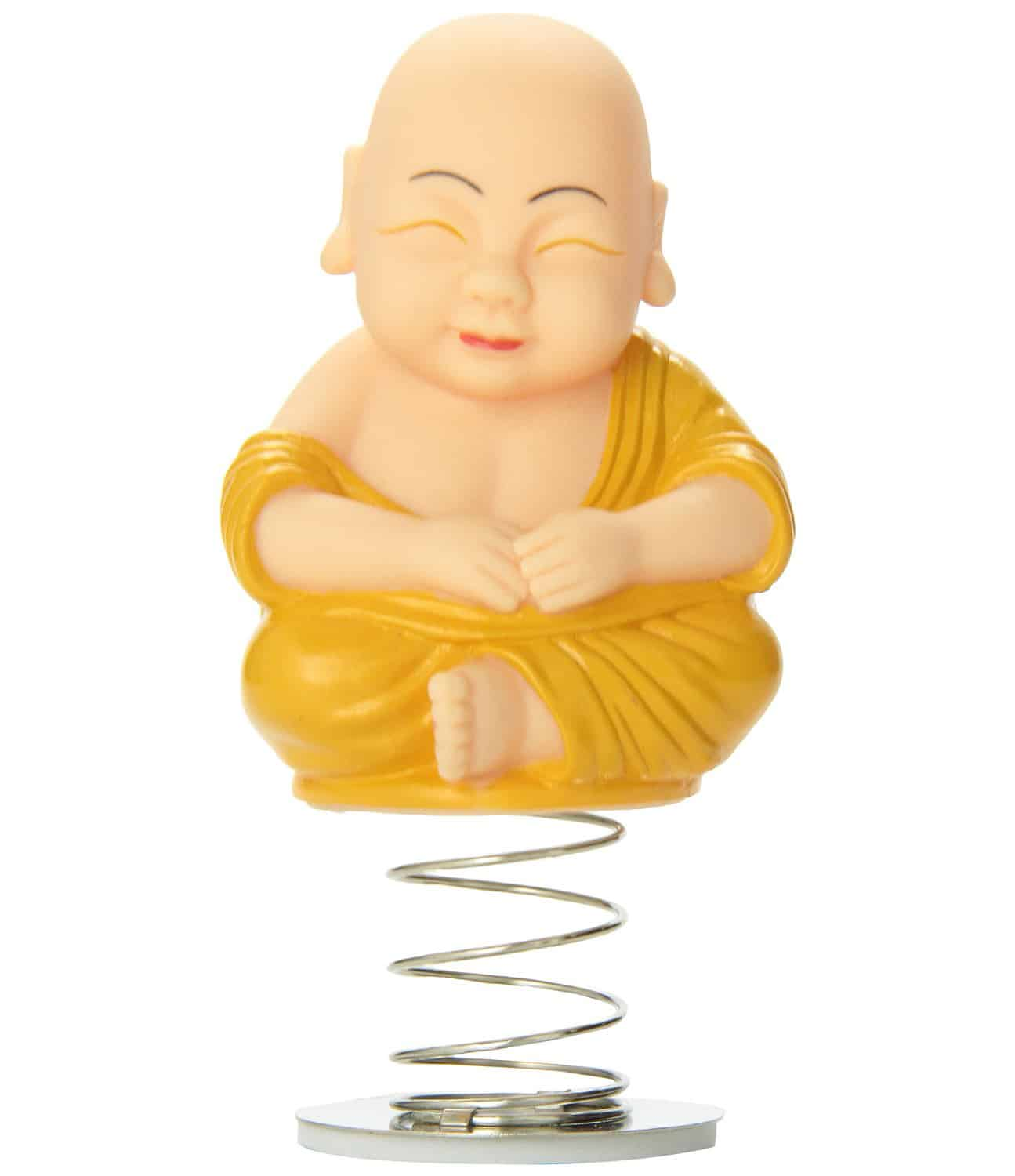 Accoutrements Dashboard Monk Cute Funny Car Accessory