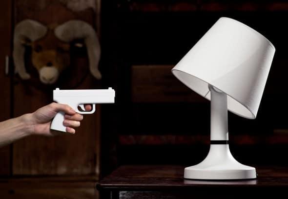 Bang! Gun Lamp by Bitplay Cool Novelty with Playful Design