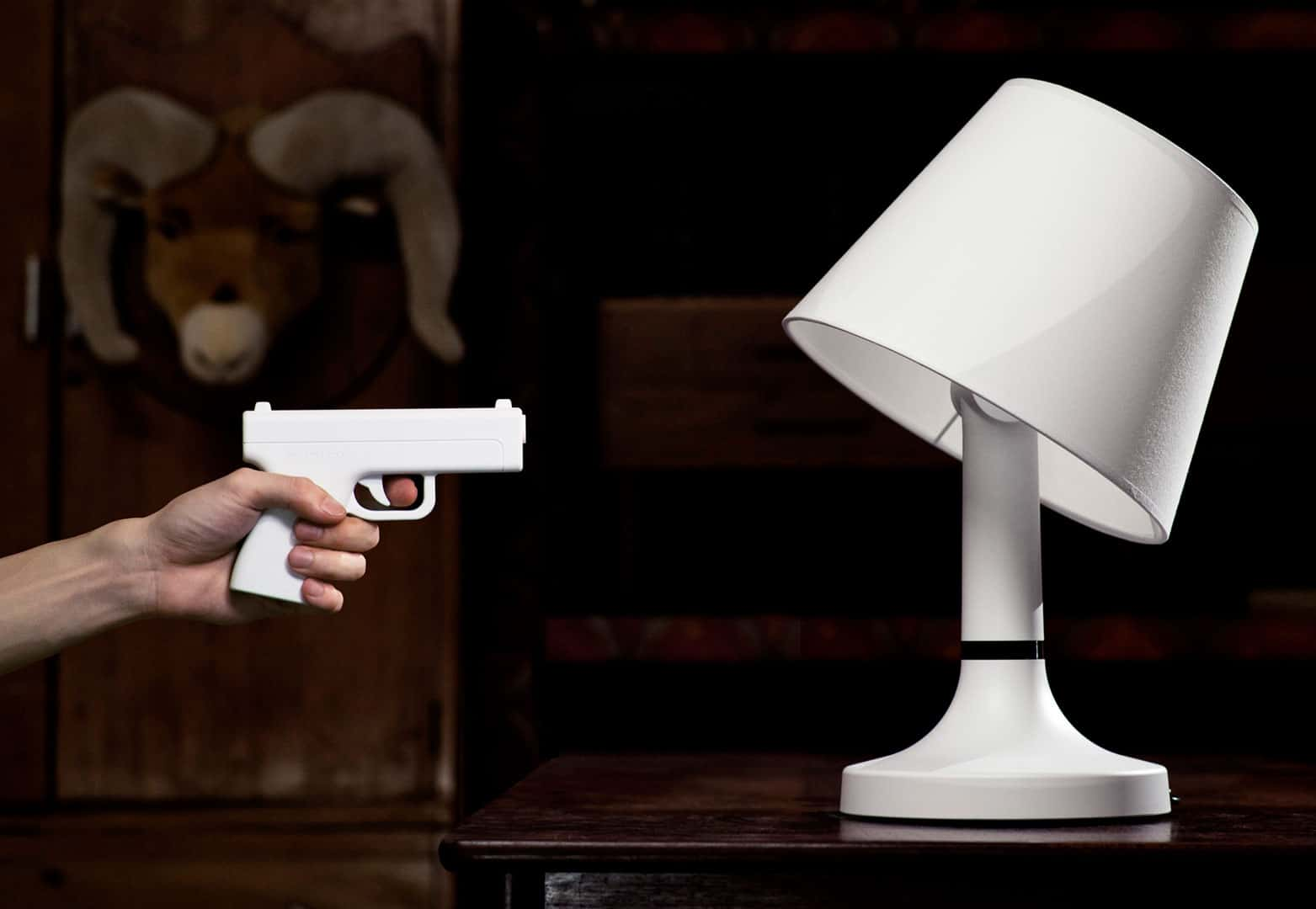 Bang! Gun Lamp by Bitplay Cool Novelty with Playful Design