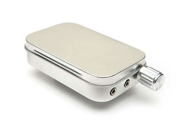 CMOY Headphone Amplifier Kit Blank Tin Can