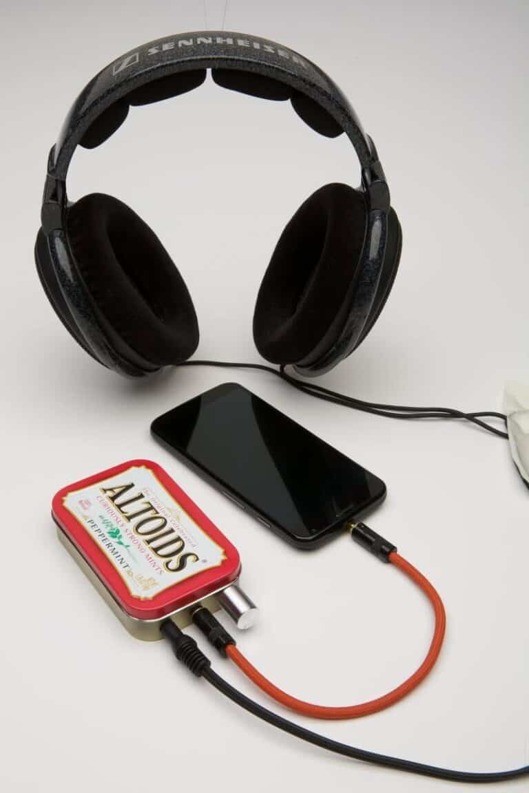 CMOY Headphone Amplifier Kit Cool DIY Technology Red Altoids Tin