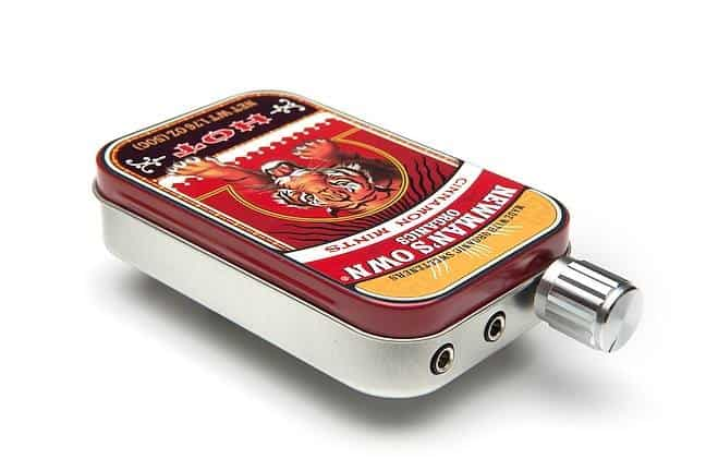 CMOY Headphone Amplifier Kit Newmans Own Cinammon Mints Tin Can