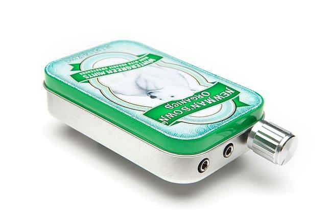 CMOY Headphone Amplifier Kit Newmans Own Wintergreen Mints Tin Can