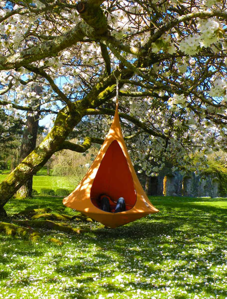 Cacoon Hammock Chill and Relax on your Garden