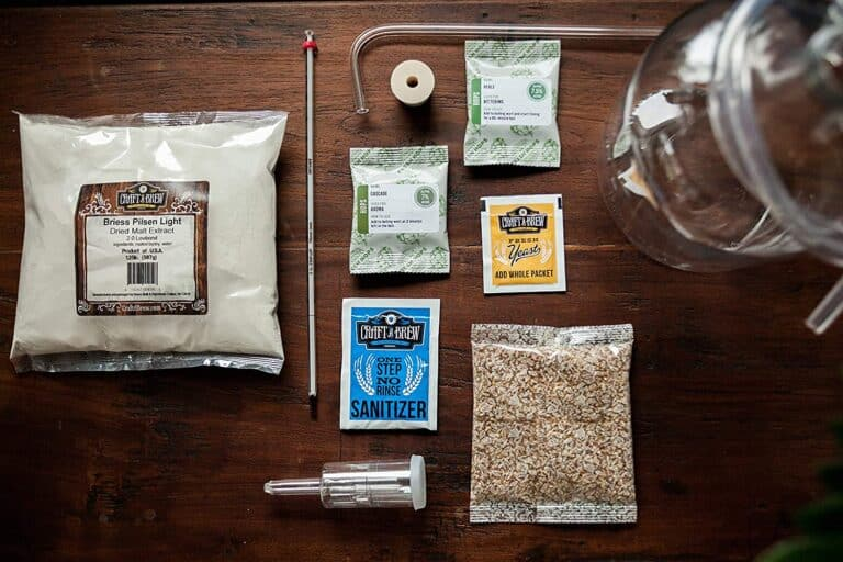Craft Beer Brewing Starter Kit American Pale Ale Box Content