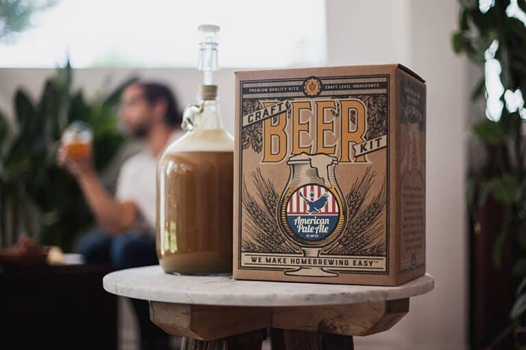 Craft Beer Brewing Starter Kit American Pale Ale Manly Gift for Men