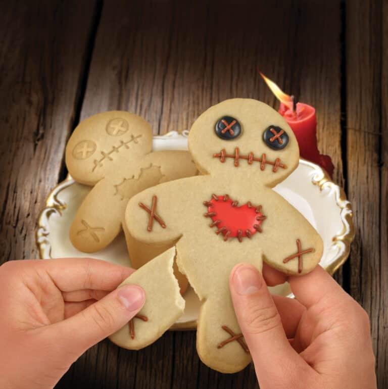 Fred Cursed Cookies Cookie Cutter Stamper Cute Halloween Voodoo Doll Dessert