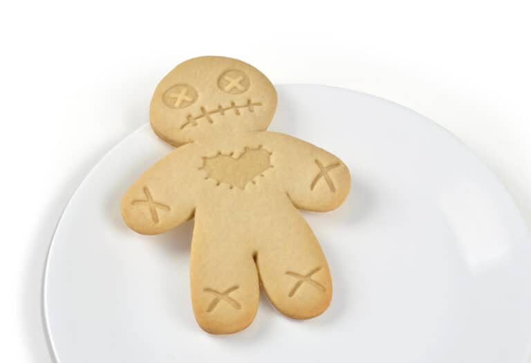 Fred Cursed Cookies Cookie Cutter Stamper Ginger Bread Man Voodoo Doll Cute and Morbid