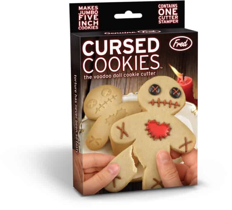 Fred Cursed Cookies Cookie Cutter Stamper Packaging Box