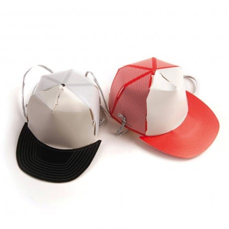 Gamago Awesome Party Hats Cute Little Black and Red Cap