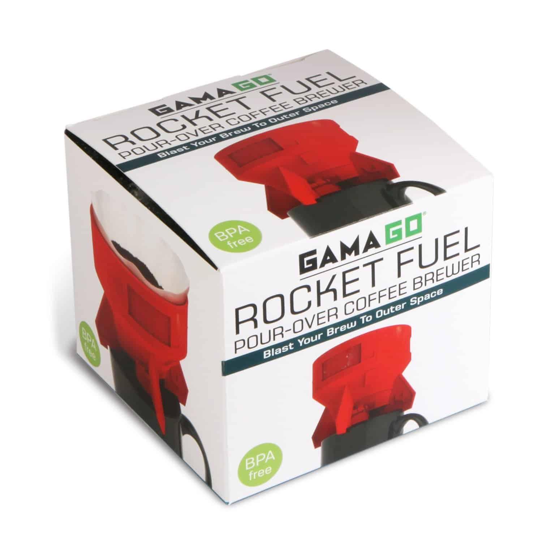 Gamago Rocket Fuel Coffee Drip Simple Box Packaging