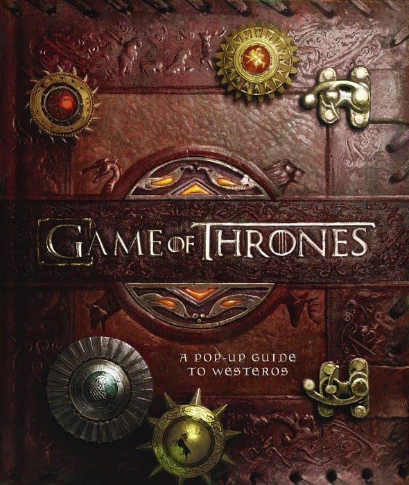 Game of Thrones A Pop-Up Guide to Westeros Cool Gift for Fans
