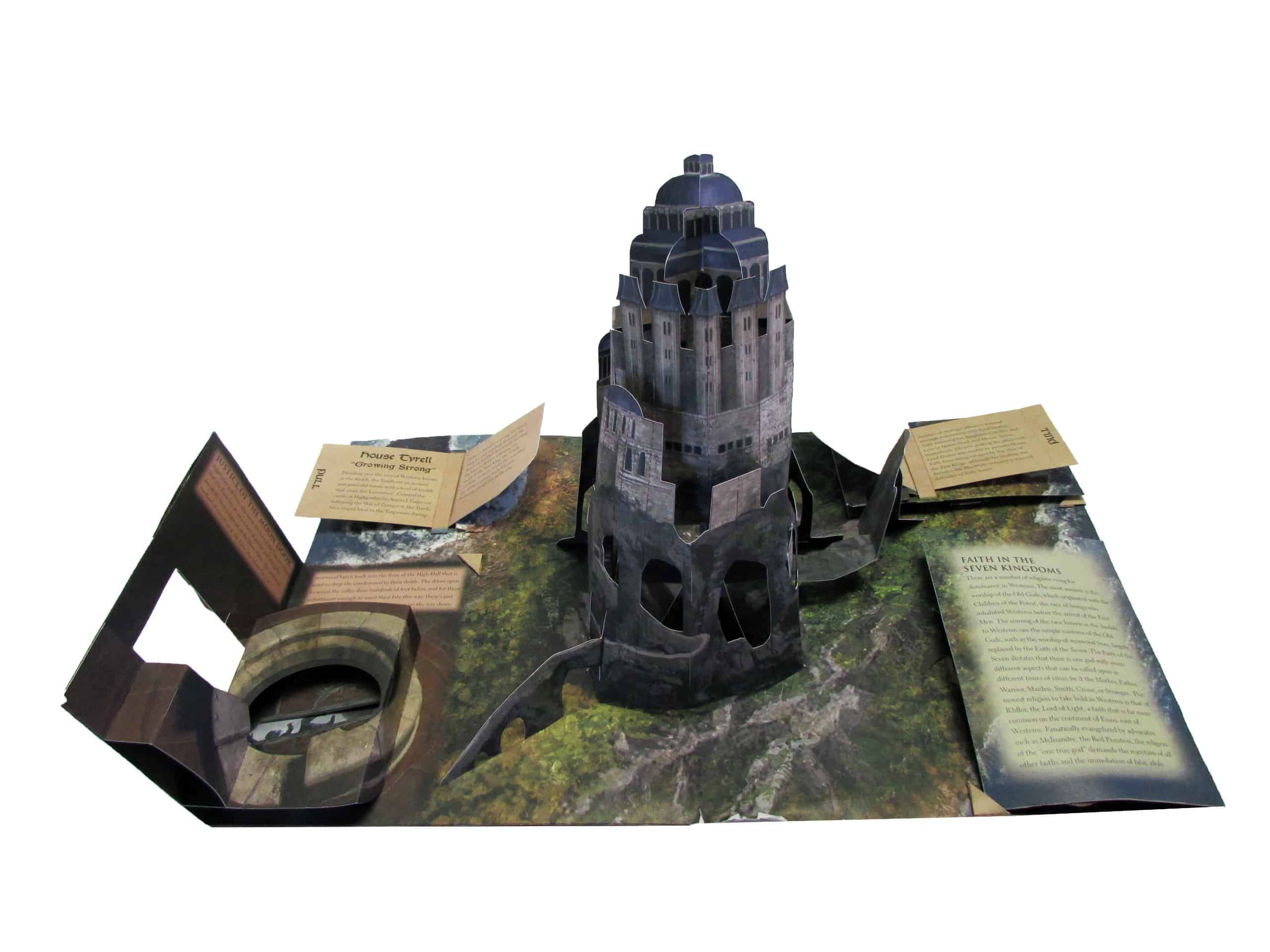 Game of Thrones A Pop-Up Guide to Westeros Gift Idea for Fan