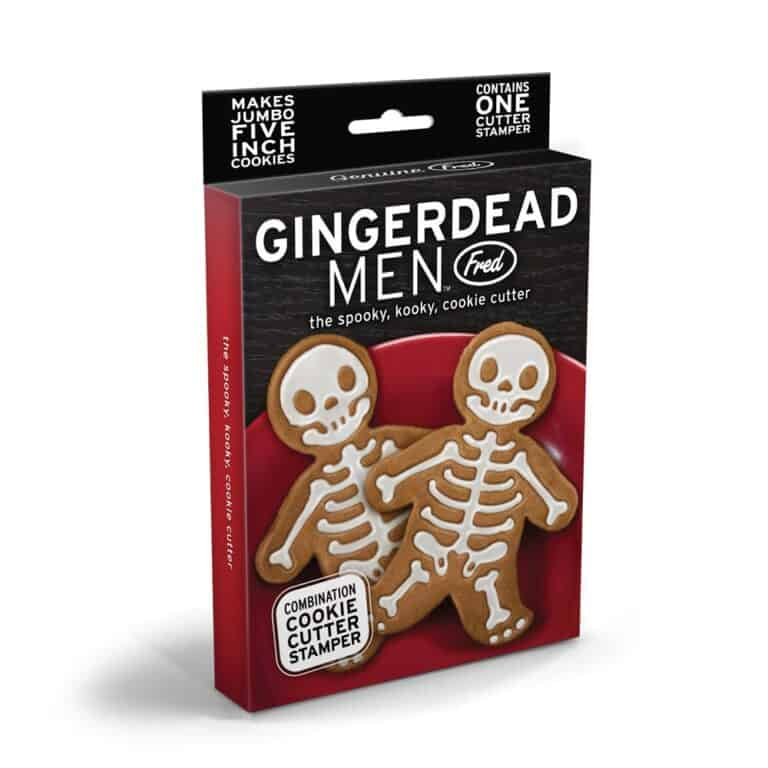 Gingerdead Man Cookie Cutter Stamper Box Packaging