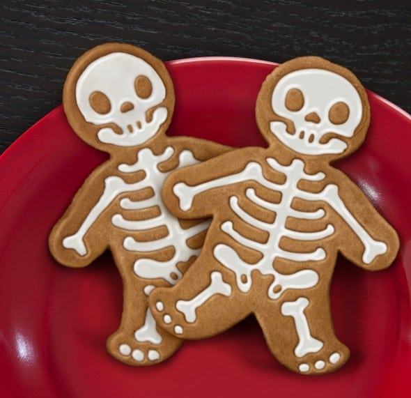 Gingerdead Man Cookie Cutter Stamper Cute Halloween Food Idea