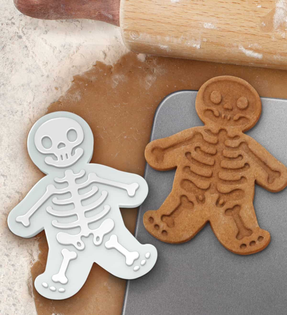 Gingerdead Man Cookie Cutter Stamper Halloween Treat Ideas