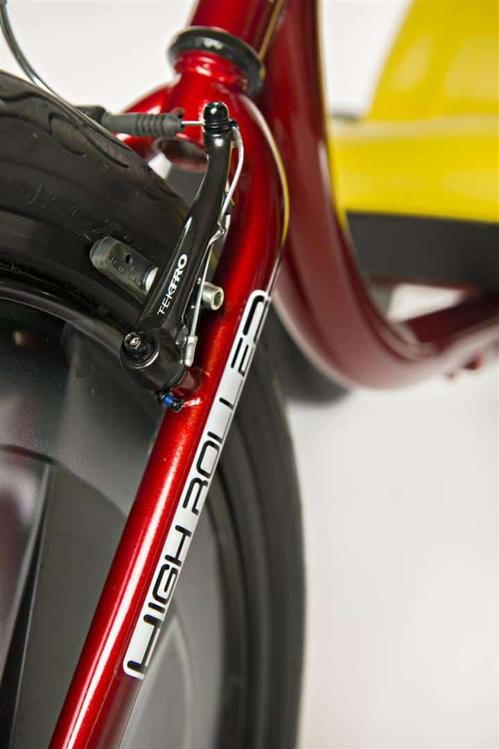 High Roller Adult Size Big Wheel Trike High Performance Brake Detail