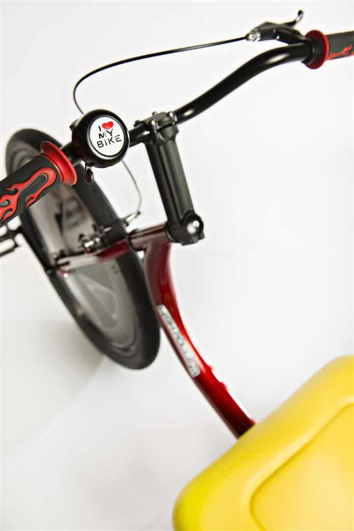 High Roller Adult Size Big Wheel Trike Love Bike Bell