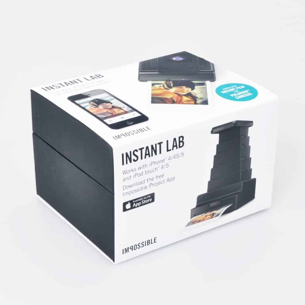 Impossible Instant Lab Black Box Print Polaroid Pictures Using Your iPhone