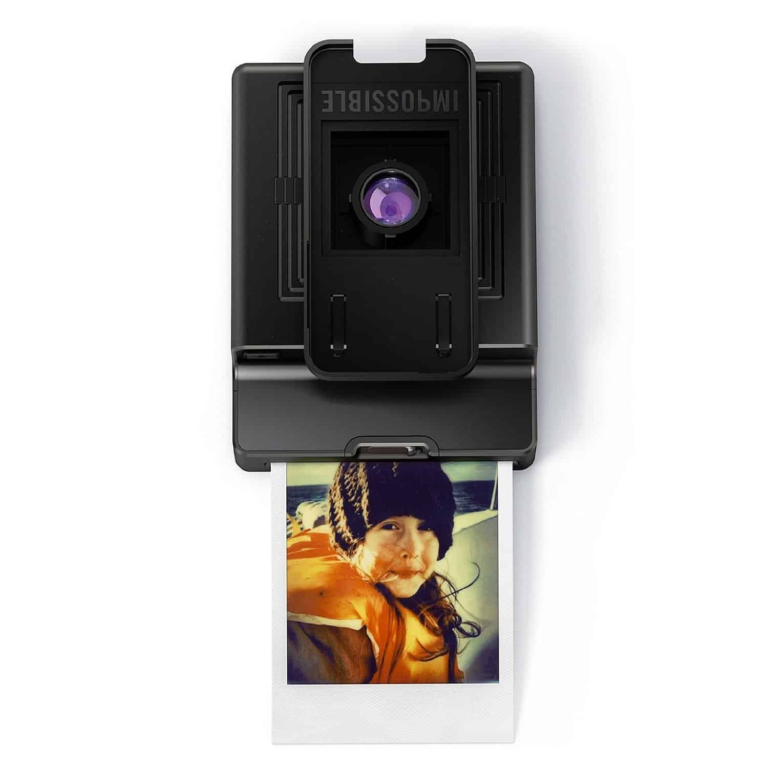 Impossible Instant Lab Black iPhone Analog Polaroid Print